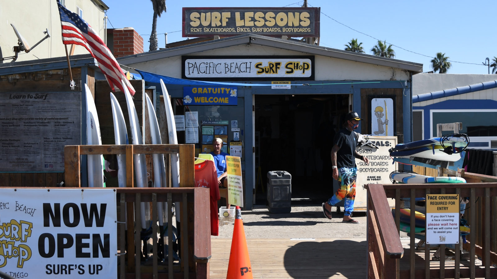 Pacific Beach Surf Shop and San Diego Surf Lessons